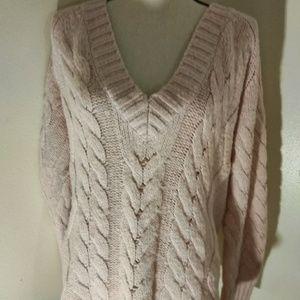 Michael Kors Pink Sweater, Large